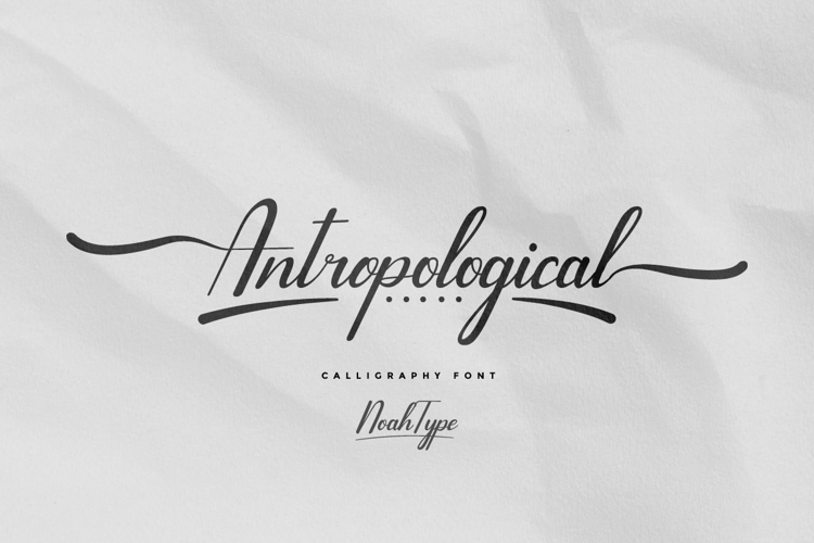 Antropological Font