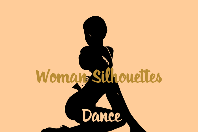 WomanSilhouettes Font