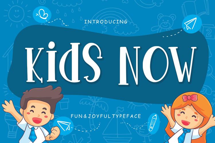 Kids Now Font