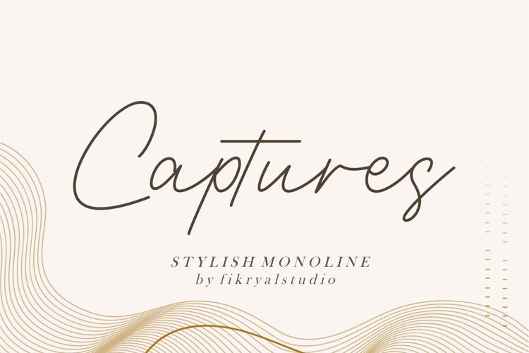 Captures Font