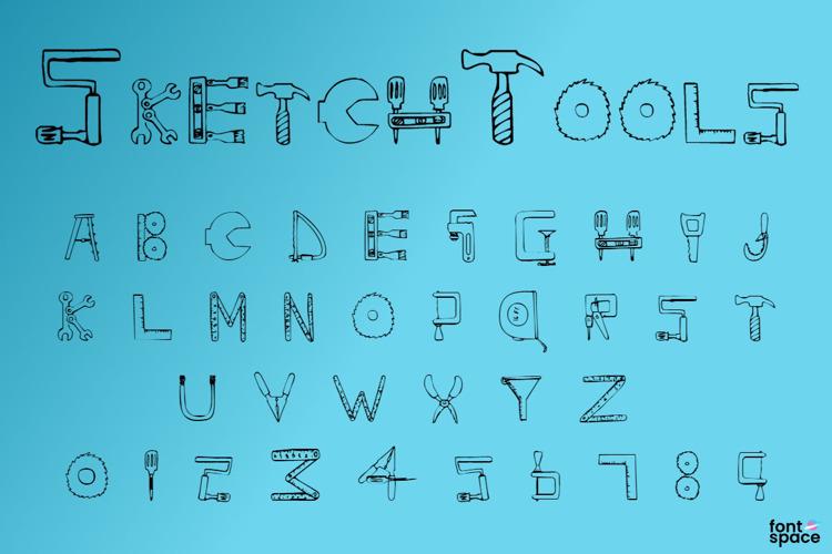 SketchTools Font