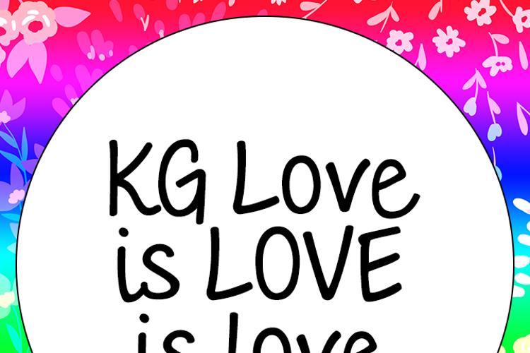 KG Love is LOVE is love Font