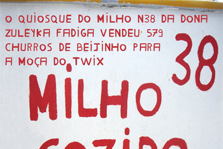 Milho Cozido Font