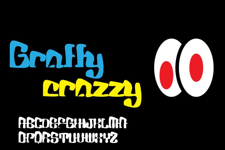 Graffy Crazzy Font