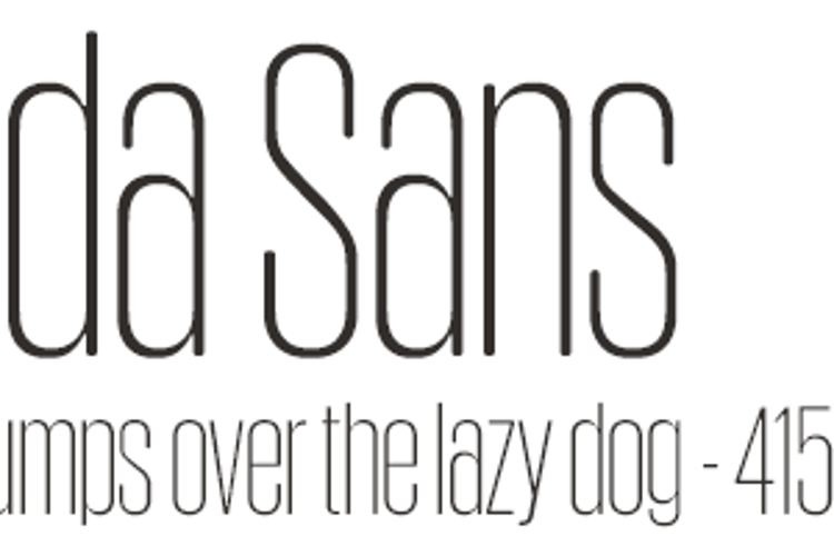 Obcecada Sans Font