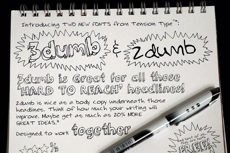 2Dumb Font