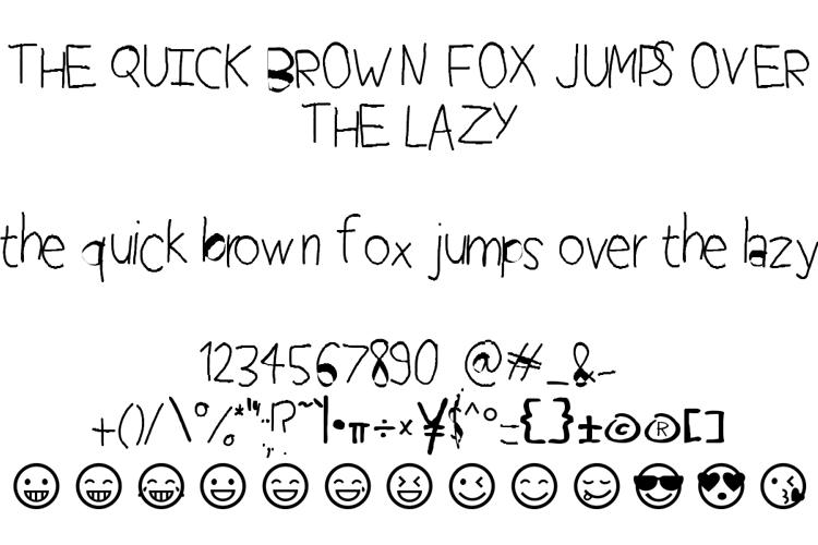 Perfect Handwriting Font