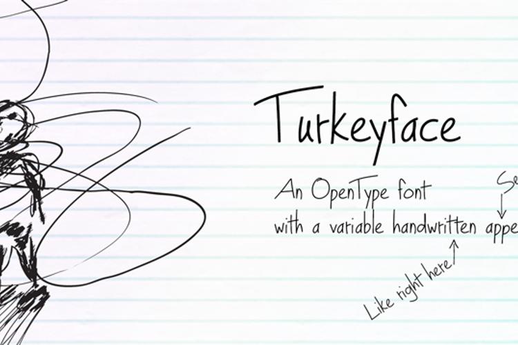 Turkeyface Font