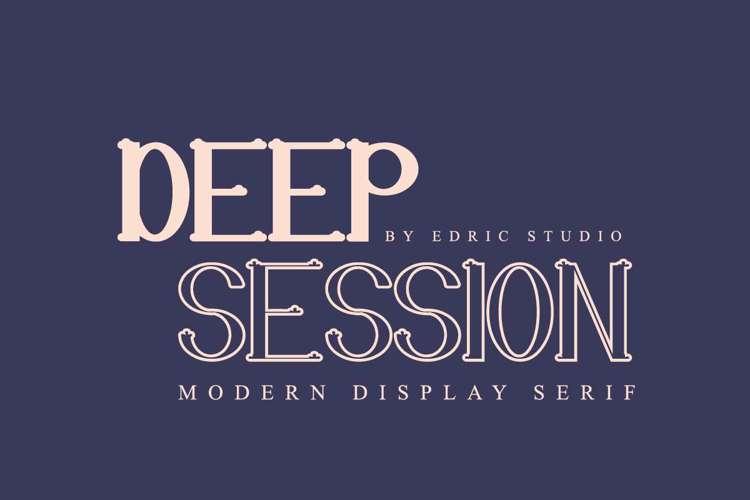 Deep Session Font