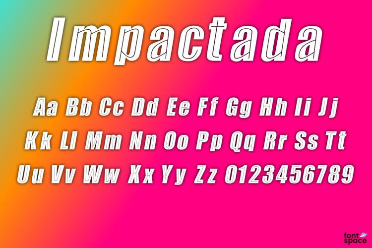 Impactada Font