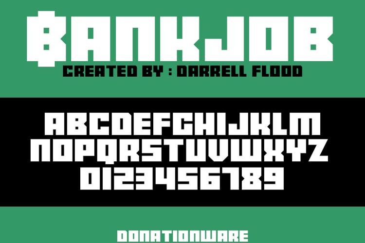 Bankjob Font