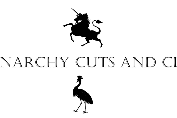Monocracy Cuts and Clips Font