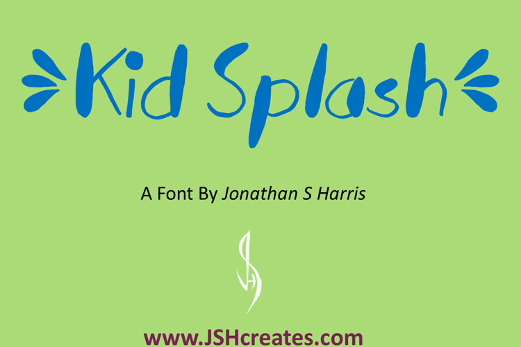Kid Splash Font