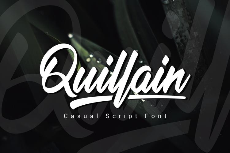 Quillain Font