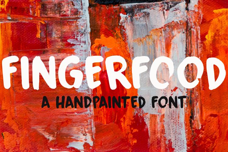 Fingerfood DEMO Font