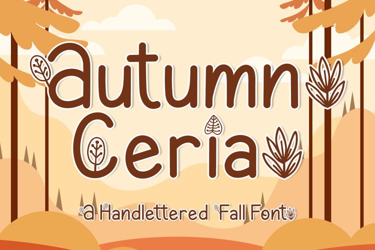 Autumn Ceria Font