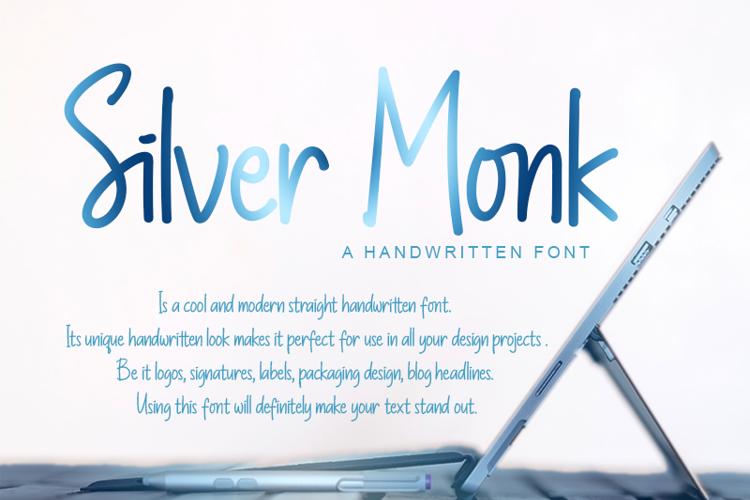 Silver Monk Font