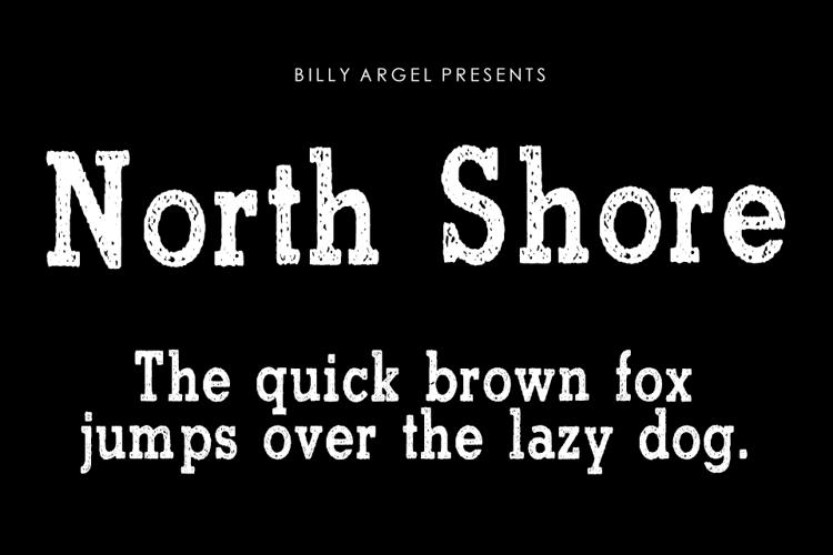 North Shore Font