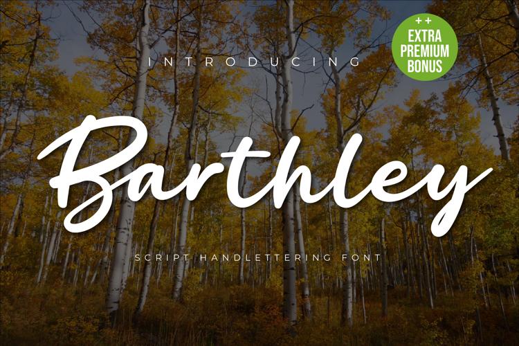 Barthley Font