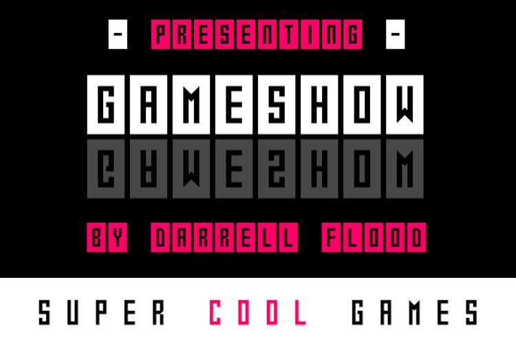 Gameshow Font