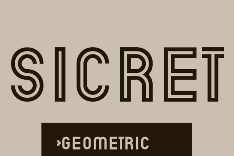 Sicret Font
