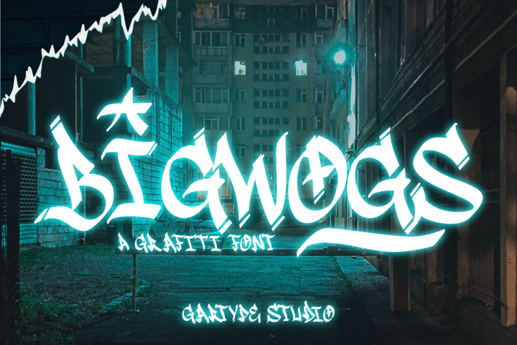 Bigwogs GT Font