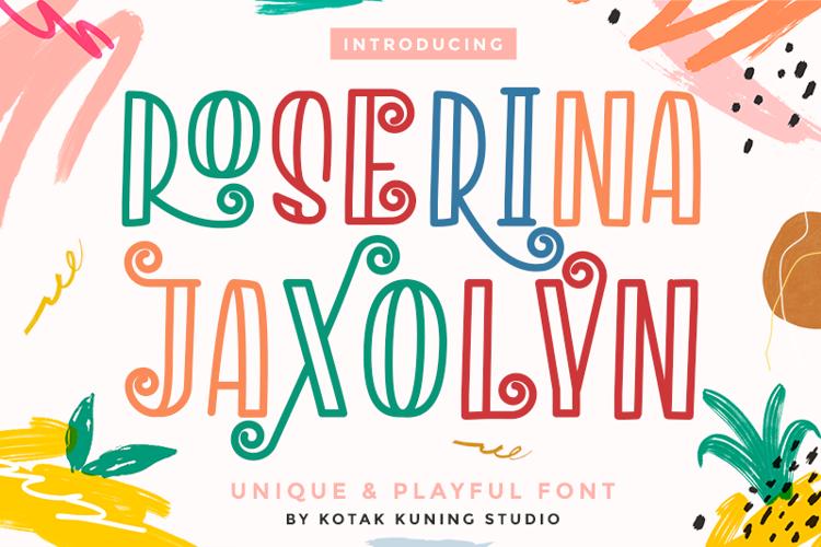 Roserina Jaxolyn Font