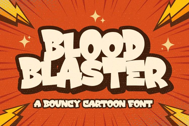 Blood Blaster Font