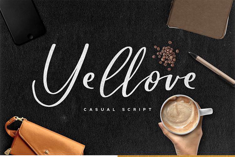 Yellove Font