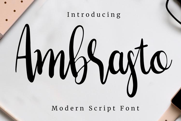 Ambrasto Font