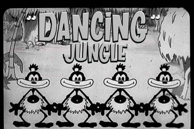 DANCING JUNGLE Font