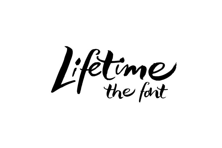Lifelogo Hard Font