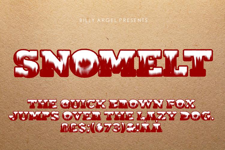 SNOMELT Font