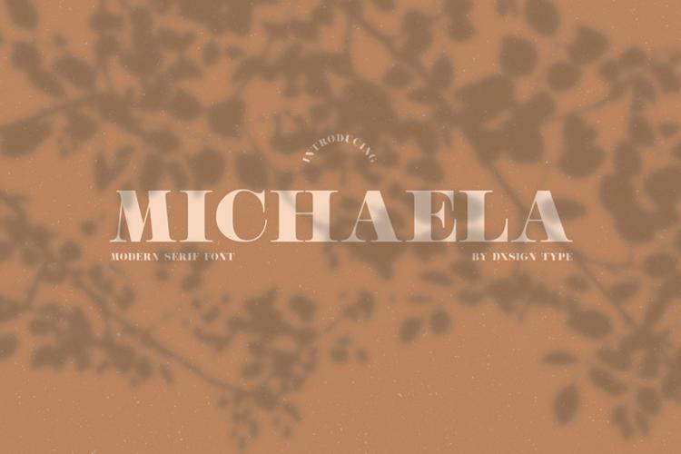 Michaela Med Font