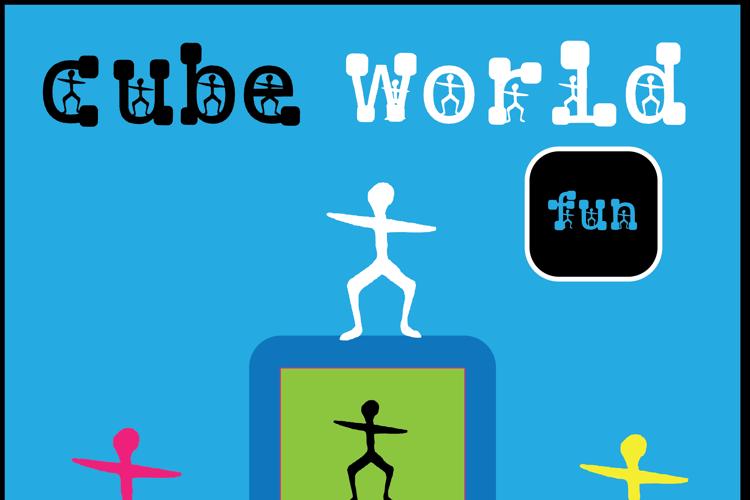 cube world Font