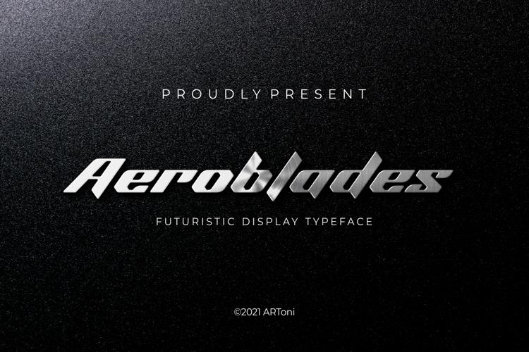 Aeroblade Font