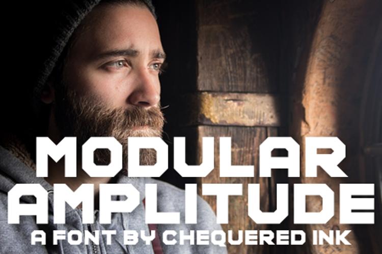 Modular Amplitude Font