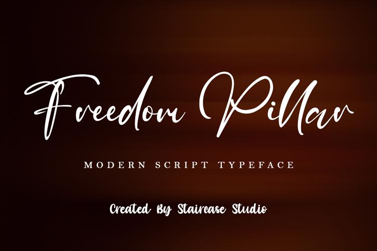 Freedom Pillar Font