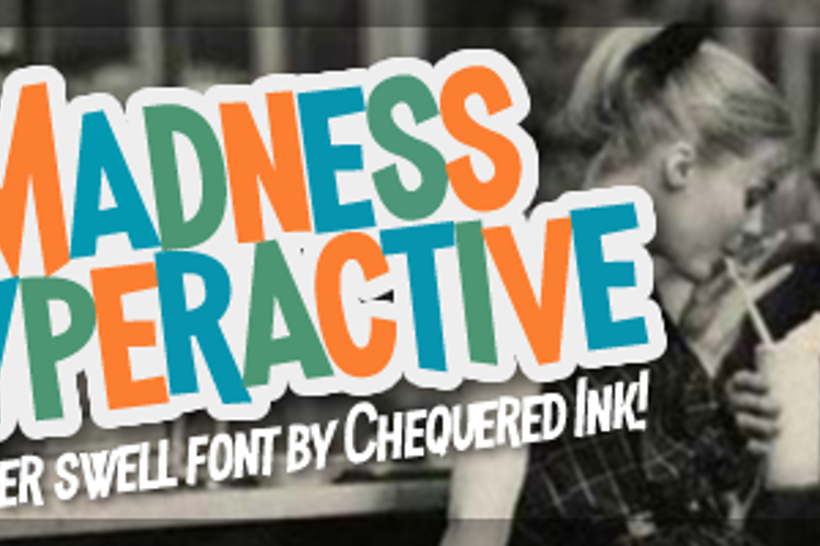 Madness Hyperactive Font