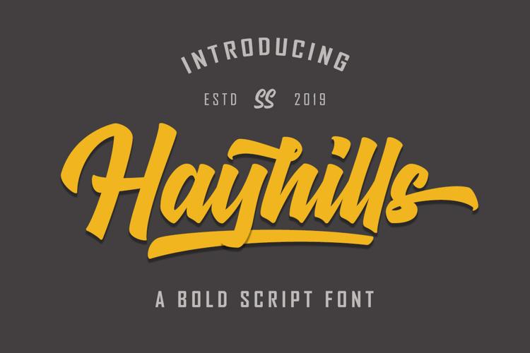 Hayhills Font