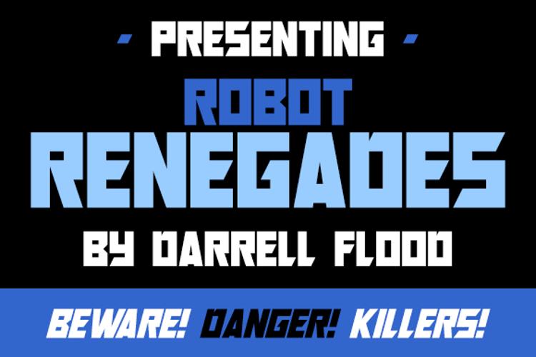 Robot Renegades Font