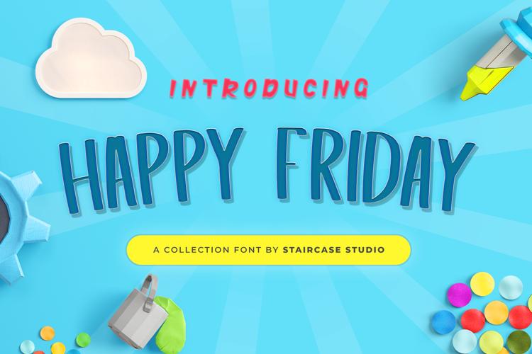 Happy Friday Font