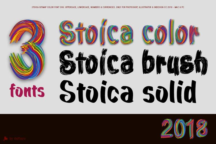 Stoica Brush Font