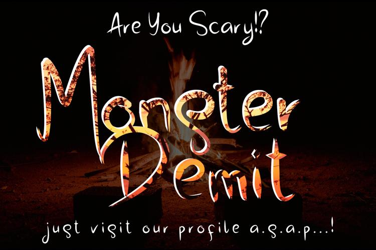 Monster Demit Font