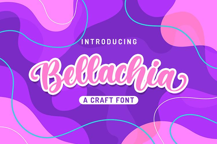 Bellachia Font