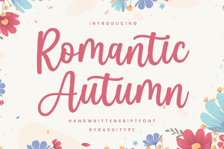 Romantic Autumn Font