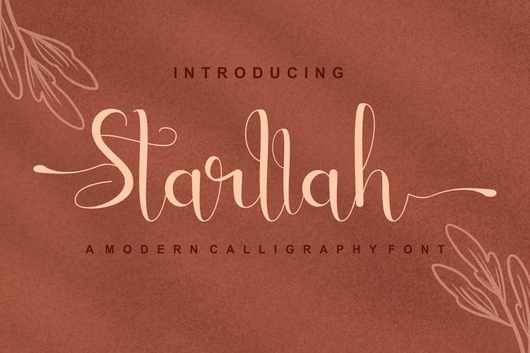 Starllah Font