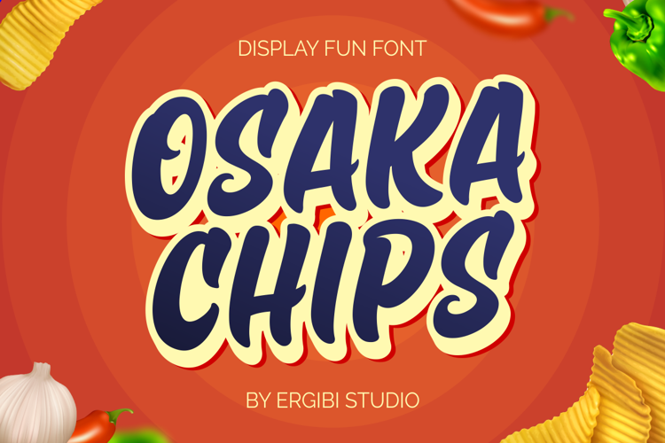 Osaka Chips Font