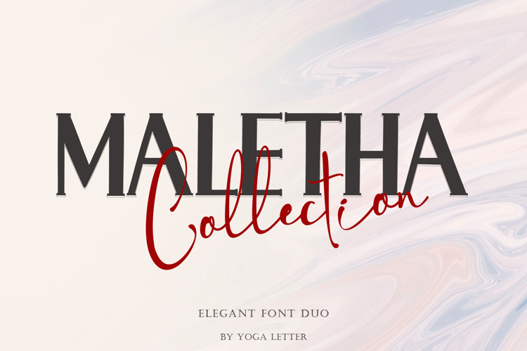 MALETHA Collection Font