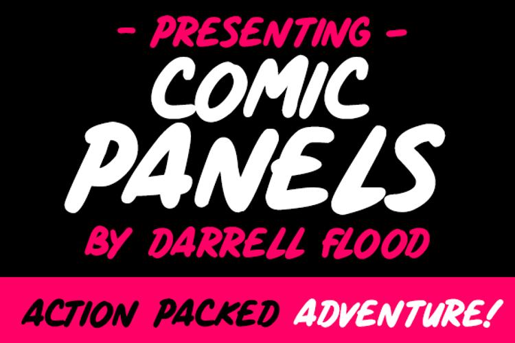 Comic Panels Font